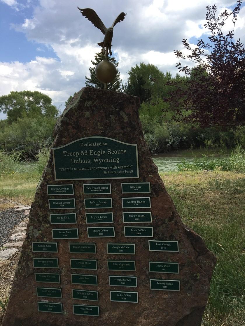EagleScouts Monument