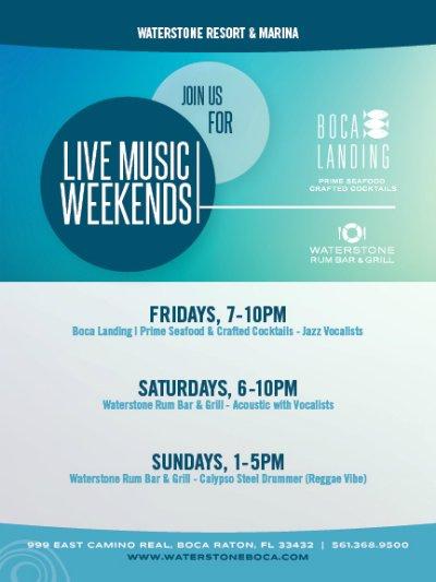 Live Music at Waterstone Resort & Marina