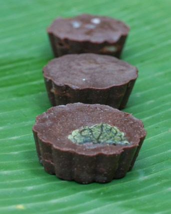 Mint Filled Chocolate Cup