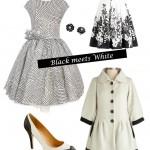 Crisp and Classy: Black meets White