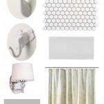 grey and white bathroom source list