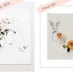 kari herer gallery wall art: splurge or steal?