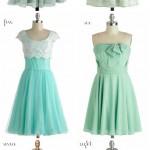 mint to be! seafoam bridemaids dresses