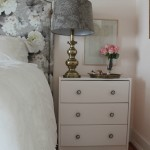 bedroom update: styling nightstands