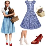 Modern Dorothy Halloween Costume