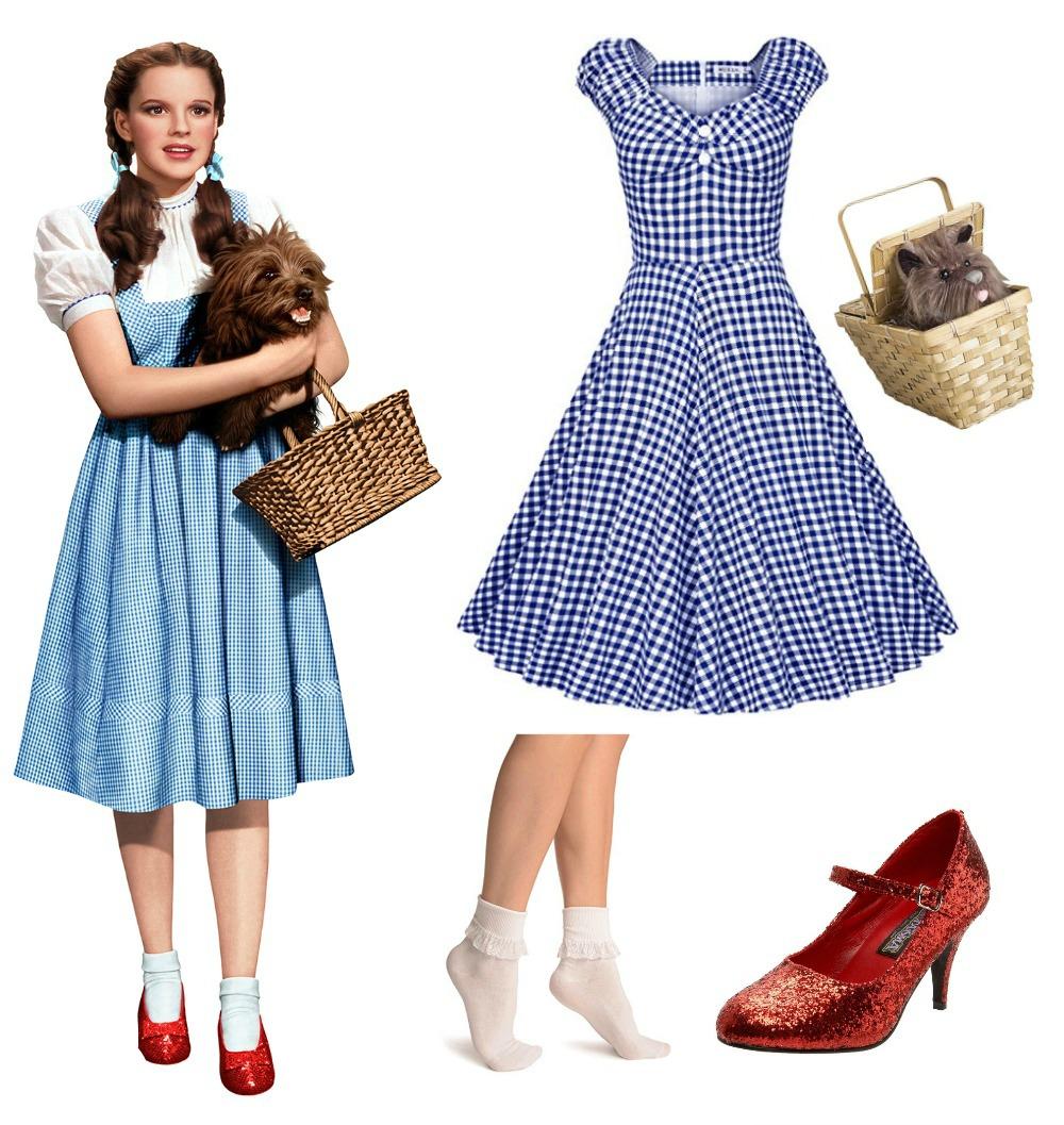 sc 1 st  Living for Pretty & Modern Dorothy Halloween Costume