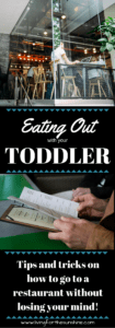 Taking a Toddler to a Restaurant
