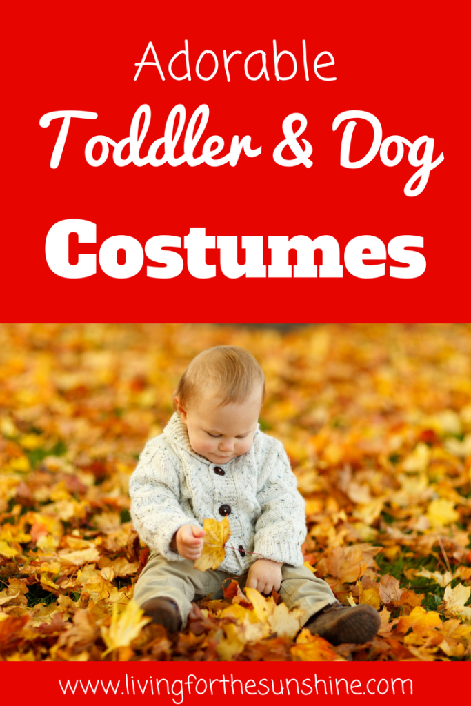 Coordinating Halloween Costumes for babies, toddlers, kids and dogs