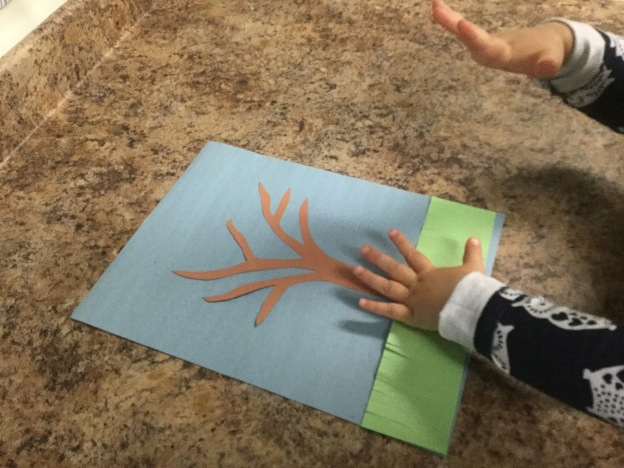 Fall Craft for Toddlers and Preschoolers