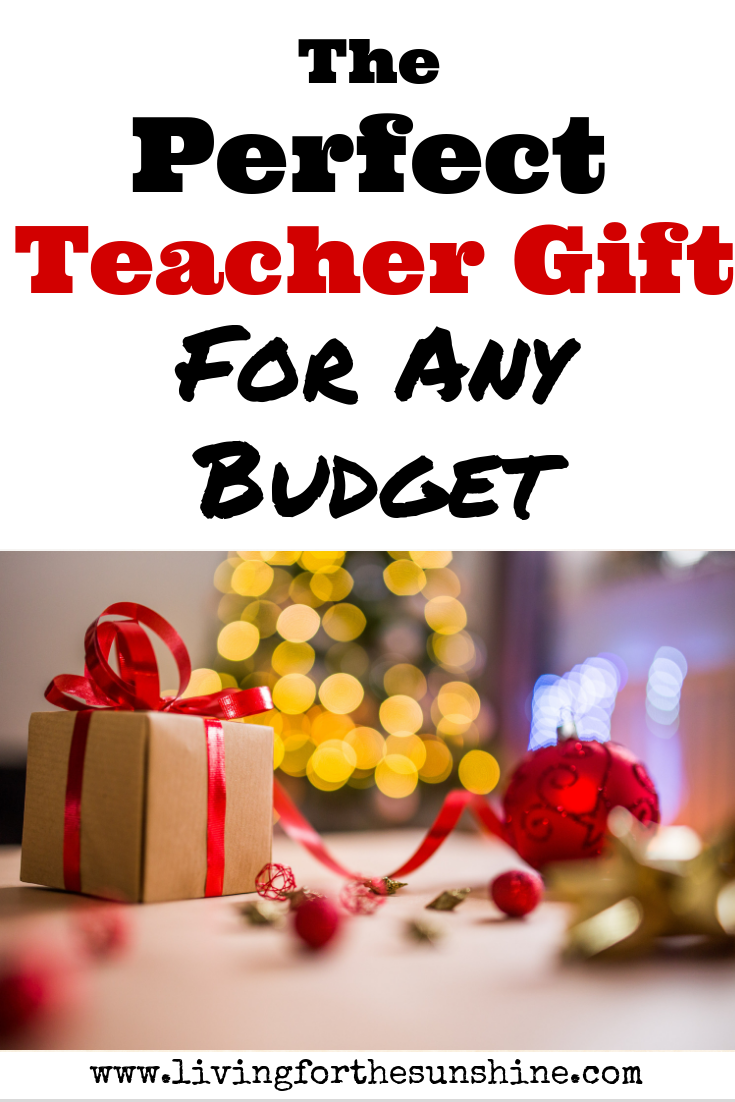 The Perfect Inexpensive Christmas Gift for Teachers - Living For the ...
