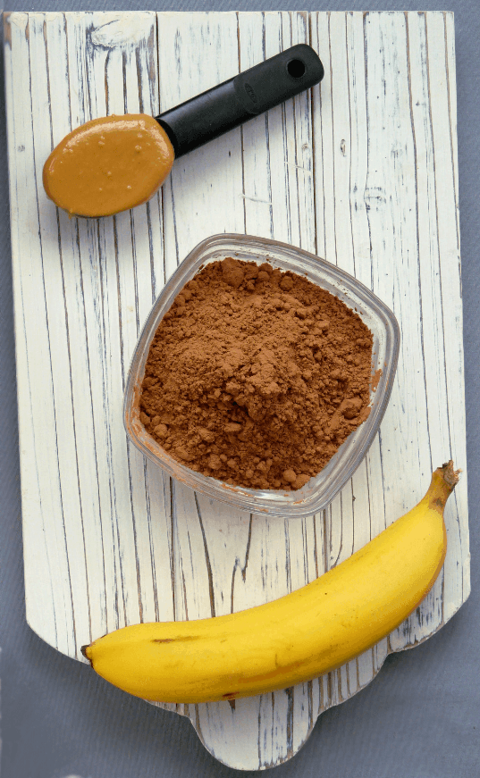 cacao smoothie ingredients