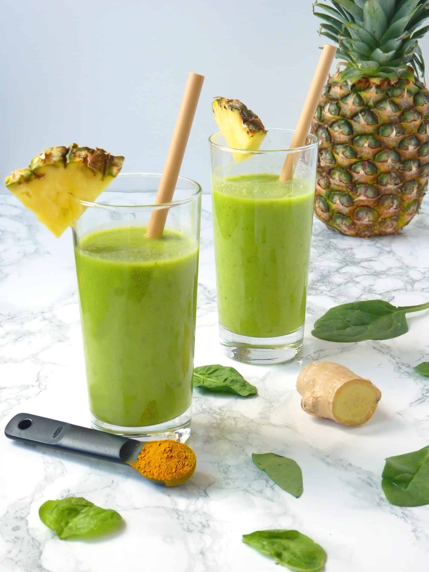 Pineapple Turmeric Anti-inflammatory smoothie