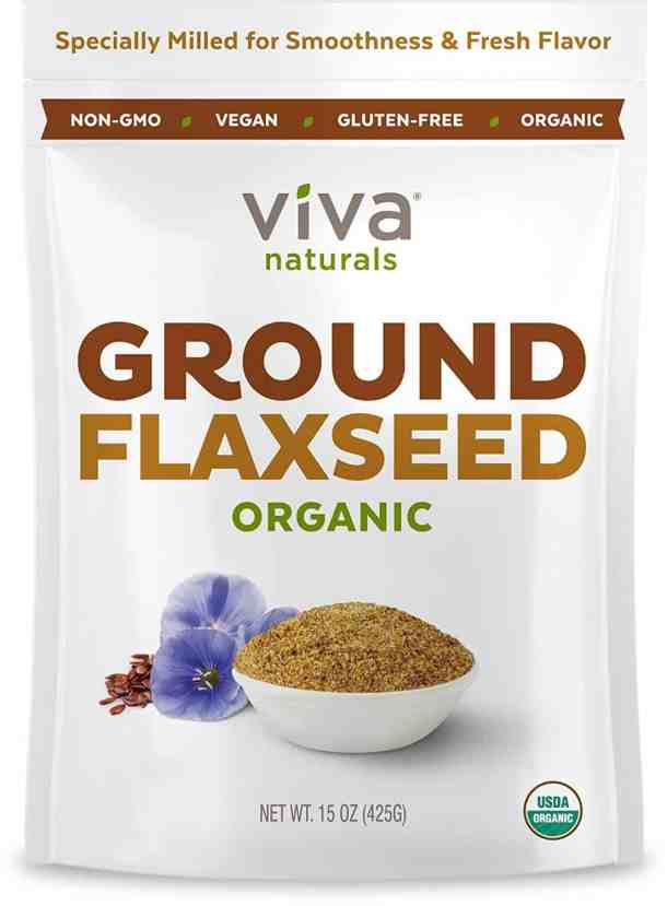 Ground Flaxseed for smoothies
