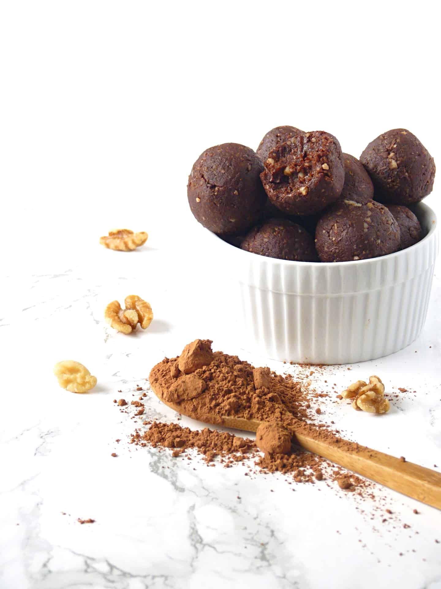 Cacao Bliss Balls Recipe