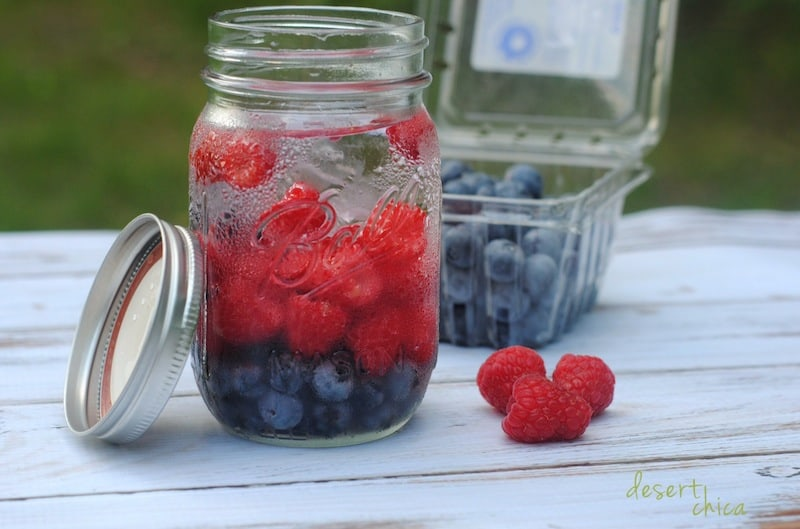 Blueberry Raspberry Weight Loss Water