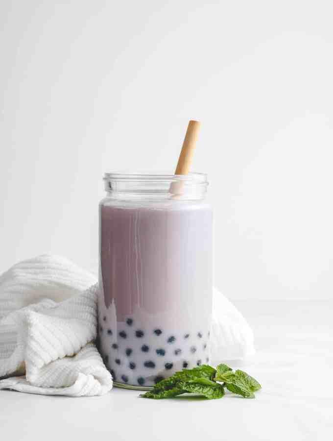 Taro Bubble Milk Tea