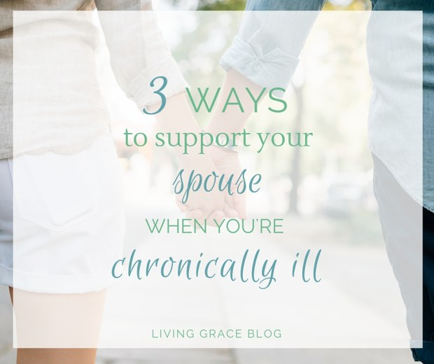 Three ways to support your spouse