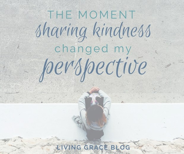 A story of how a moment of kindness can transform our perspective of community, of life and of reminding someone of their worth.