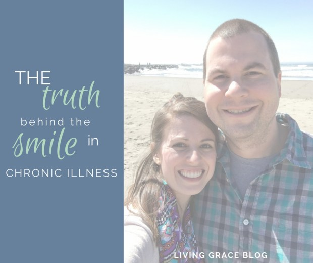 There's a whole separate reality that those with chronic illness experience. A reality that goes far beyond the smiles in a picture or being able to attend a rare gathering. Our reality can look like survival, every moment. Even in the ones where we're smiling.