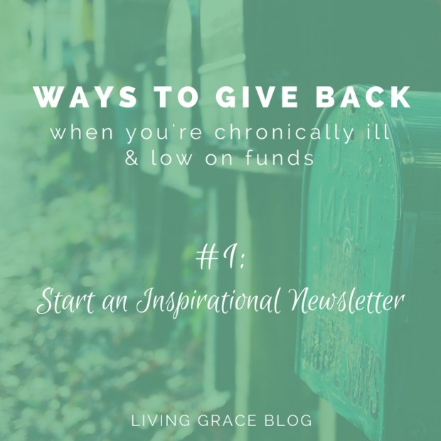 Give Back: Start an Email Newsletter to Inspire Others