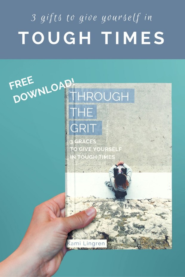 Are you facing a tough time? This resource was created with you in mind. To encourage and equip you with 3 essential tools to help you through. Download your free copy at livinggraceblog.com!