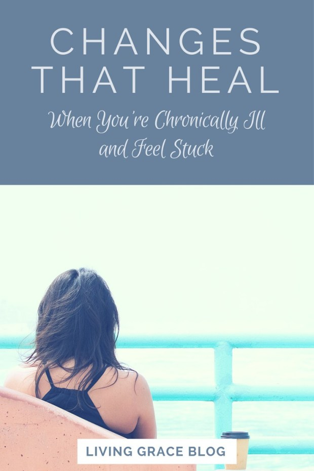 Do you feel 'stuck' as someone who lives with chronic illness? Do you feel like there's no way to change your current situation? Today Kerry Heckman is sharing her thoughts and experience on making positive changes that have helped her heal. Click here to read the full post!