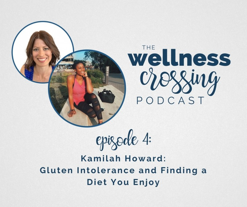 Gluten Intolerance and Finding a Diet You Enjoy: A Podcast Episode with Kamilah Howard