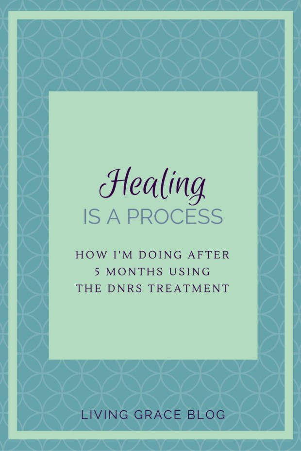 "Over the past few months I've seen layers of healing begin to unfold as I've been following the DNRS program. I'm diving into just what the progress has looked like for me and why I'm releasing the idea of ""fighting"" my illness and choosing to lean in to the journey that is healing."