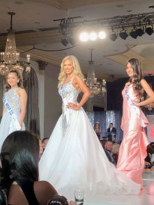 Gracie Hunt, Miss Texas Teen USA, semifinalist, pageant, evening gown, competition, white evening gown, Miss Teen USA