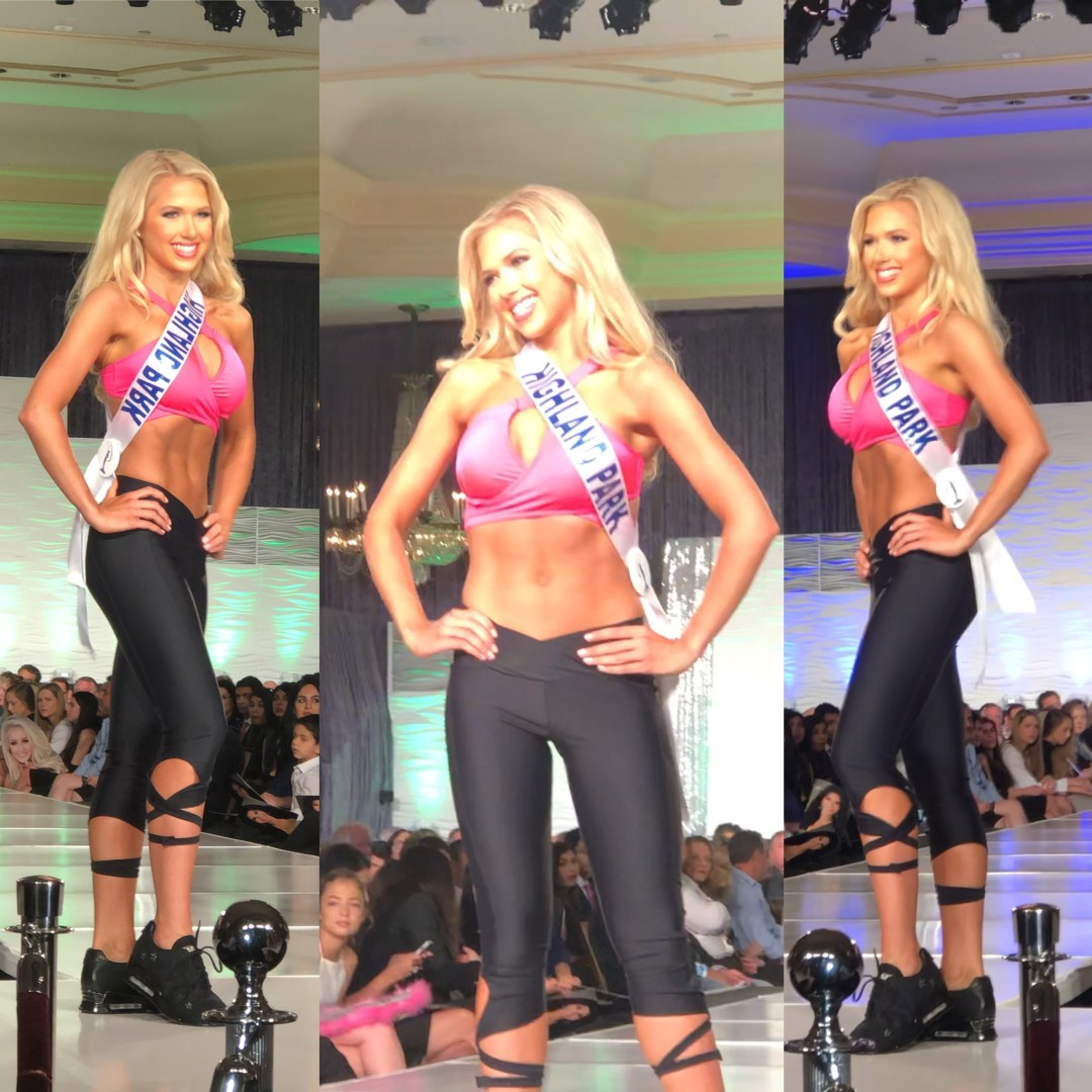 Gracie Hunt, Miss Texas Teen USA, semifinalist, pageant, fitness competition, competition, fitness, Miss Teen USA