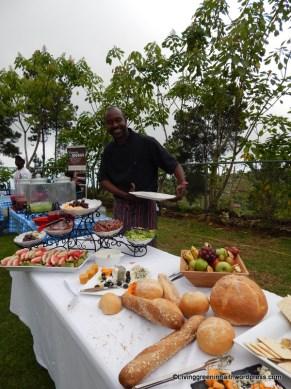 Chef David Destinoble posing for the cam
