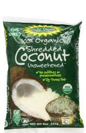 Unsweetened Coconut Shredded