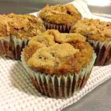 Paleo Banana Crumb Muffin