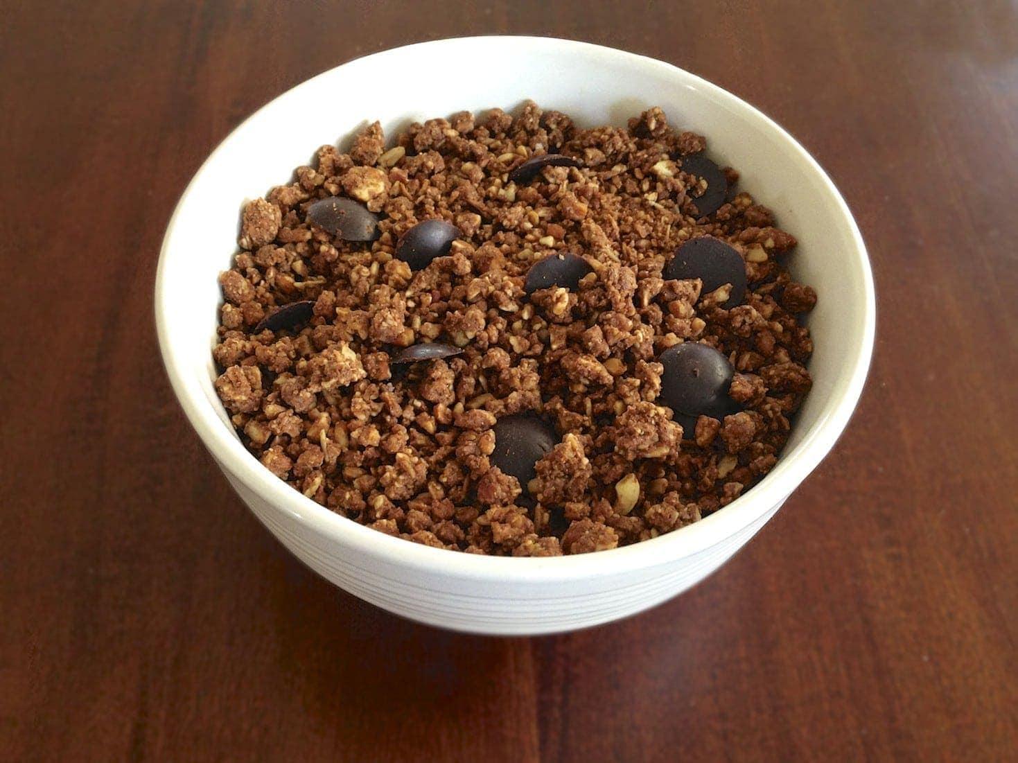 Paleo Chocolate Granola