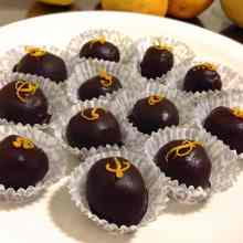 Dark Chocolate Orange Bonbon