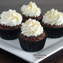 Paleo Coconut Cupcake