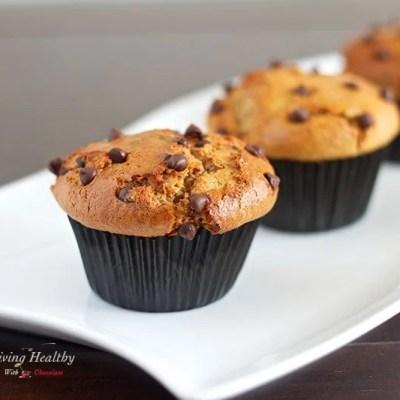 Paleo Flourless Chocolate Chip Muffins