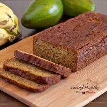 Paleo Avocado Banan Bread