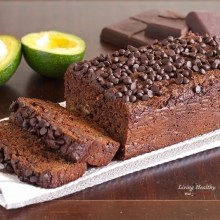 Paleo Avocado Chocolate Bread
