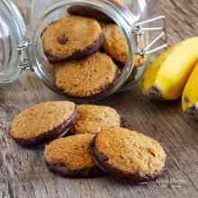 Paleo Banana Cinnamon Cookies