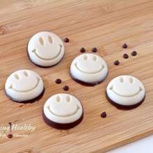 Chocolate/Coconut Smileys Treat