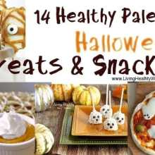 14 Halloween Healthy Paleo Snacks, Treats and Recipes