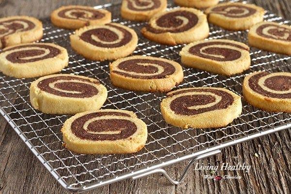 Paleo Pinwheel Cookies
