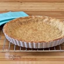 Paleo Cookie Pie Crust