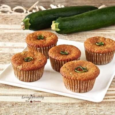 Paleo Zucchini Muffins (Gluten/Grain/Dairy-free)