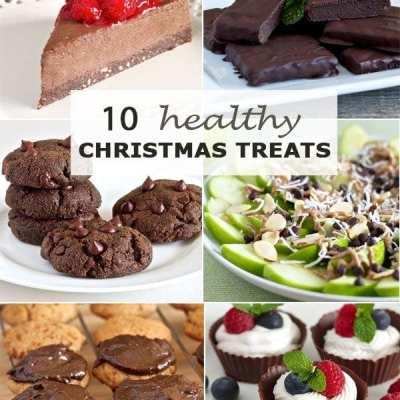 10 Healthy Christmas Treats (Paleo, gluten-free)