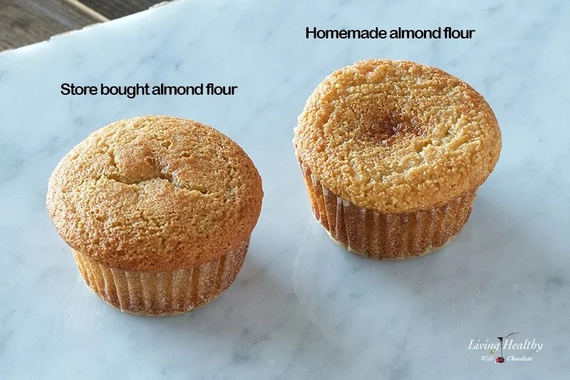 How to blanch almonds and make almond flour