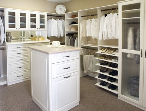 Stylish Walk In Closet Design Ideas