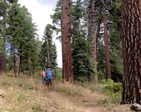 Hiking in Big Bear Lake California