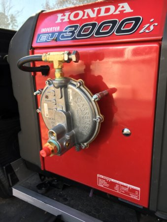 A US Carburetor modification so our generator can run on gas, propane or natural gas.